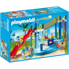 Zona de joaca in parcul acvatic Playmobil
