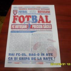 Program FC Botosani - Precizia Sacele - Program meci