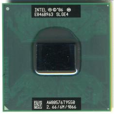 Procesor Laptop Intel T9550 2.66ghz 6m 1066fsb, Intel Core 2 Duo, 2500- 3000 Mhz, Numar nuclee: 2, P