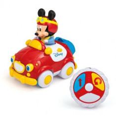 Masinuta Mickey Mouse cu telecomanda
