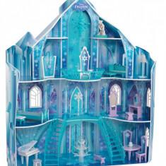 Casuta pentru papusi Frozen Snowflake Kidkraft, Multicolor