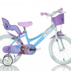 Bicicleta Frozen - 166R FZ - Bicicleta copii Dino Bikes