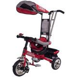 Tricicleta Lux - Sun Baby - Rosu - Tricicleta copii