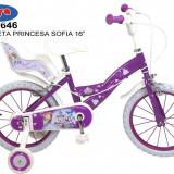 Bicicleta 16 - Printesa Sofia - Bicicleta copii Toimsa
