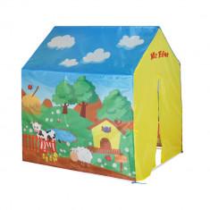 Cort de joaca pentru copii My Farm, Multicolor