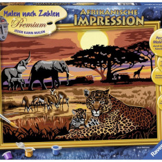 Pictura pe Numere - Safari African