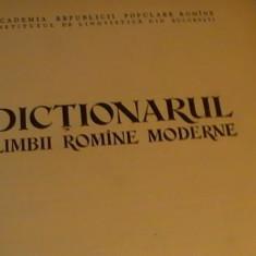 DICTIONARUL LIMBII ROMAMNE MODERNE