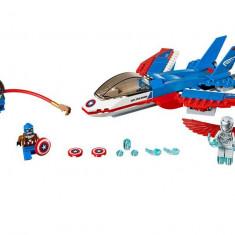 LEGO Marvel Super Heroes - Capitanul America si urmarirea avionului cu reactie 76076
