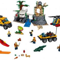 LEGO City - Amplasamentul de explorare din jungla 60161