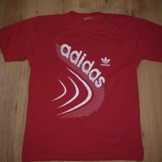 Tricou Adidas marimea M/L - Tricou barbati Adidas, Culoare: Din imagine, Maneca scurta, Bumbac