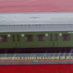 Macheta locomotiva L`Automotrice Z-23303 de la ligne de Sceaux - 1952 - Macheta Feroviara, HO, Locomotive