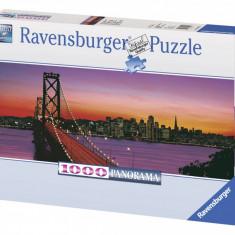 Puzzle Ravensburger PODUL OAKLEY BAY, SAN FRANCISCO 1000 piese