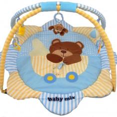 Saltea de joaca pentru copii Teddy Bear - Tarc de joaca Baby Mix, Multicolor