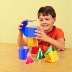 Set 16 forme geometrice pliante - Set rechizite