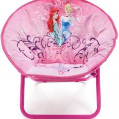 Fotoliu pliabil pentru copii Disney Princess - Set mobila copii