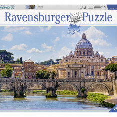 Puzzle Ravensburger PODUL SANT ANGELO, ROMA 2000 piese