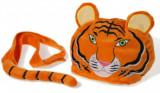 Set accesorii deghizare Tigru, Multicolor