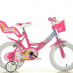 Bicicleta Princess - 144R PSS - Bicicleta copii Dino Bikes