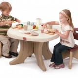 Set masuta si 2 scaune pentru copii - STEP2 - Masuta/scaun copii