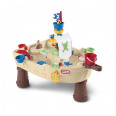 Masuta de joaca cu apa nava pirat - Little Tikes - Jucarie nisip