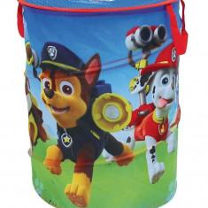 Sac pentru depozitare jucarii Paw Patrol - Sistem depozitare jucarii, Textil, Multicolor