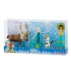 Set 4 figurine - Frozen Fever Deluxe