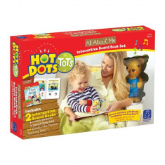 Set Hot Dots - 2 carti interactive - Totul despre mine