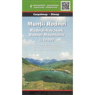 Dimap Harta Turistica Muntii Rodna / Rodnei foto