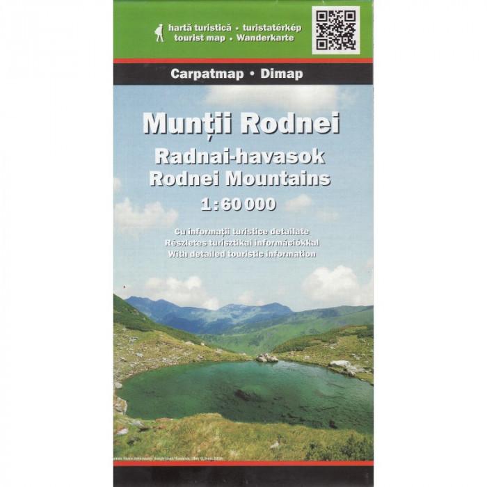 Dimap Harta Turistica Muntii Rodna / Rodnei