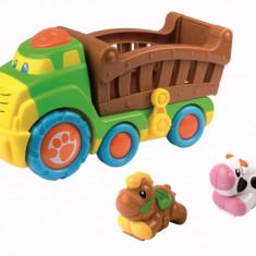 Jucarie muzicala - Camionul de la ferma - Jucarie interactiva