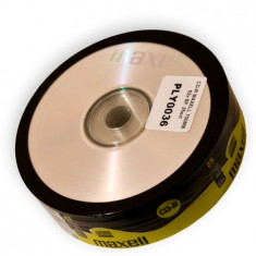 CD-R MAXELL 700MB 52X SPINDLE 25