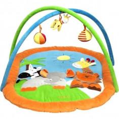 Saltea de joaca Prietenii Mei - Tarc de joaca Playshoes, Multicolor