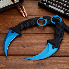 Cutit CSGO / CS GO - Counter Strike : Global Offensive-KARAMBIT DOPPLER Albastru