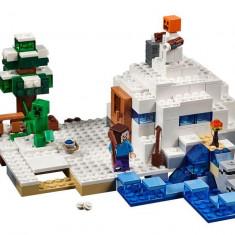 LEGO Minecraft - Ascunzisul din zapada 21120