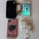 Iphone 4 Alb - Telefon iPhone, 16GB, Neblocat, Dual core, 512 MB