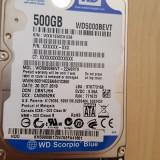"Western Digital Scorpion Blue 500GB Internal 5400RPM 2.5"" (WD500BEVT) HDD - HDD laptop"