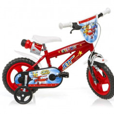 Bicicleta DINO BIKES - Super Wings 412UL SW - Bicicleta copii