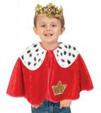 Cumpara ieftin Set pelerina si coroana pentru deghizare Rege 92 cm