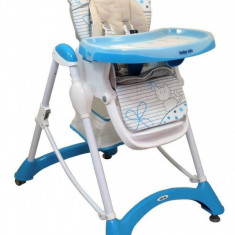 Scaun de masa Hungry Cats - Albastru Baby Mix