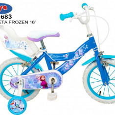 Bicicleta 16 Frozen - Toimsa - Bicicleta copii