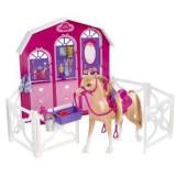 Gama Barbie si surorile ei - Calut si grajd, Mattel