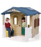 Casuta cu pridvor - Naturally Playful Front Porch Playhouse