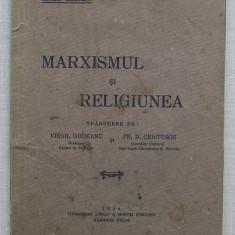 Nicolae Berdiaeff - Marxismul si Religiunea (carte veche 1934) - Filosofie