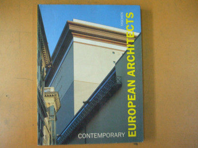 Arhitecti europeni contemporani Taschen  1991 contemporary european architects foto