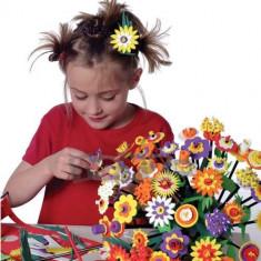 Set creativ - Buchetul de flori - Jocuri arta si creatie