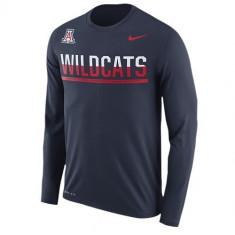 Nike College Dri-FIT Sideline L/S T-Shirt | produs 100% original, import SUA, 10 zile lucratoare - eb270617a - Bluza barbati