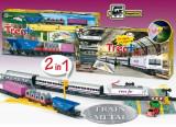 Trenulet electric calatori si marfa RENFE Tren - Pequetren, Seturi complete