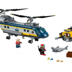 LEGO City - Elicopter pentru expeditii marine 60093
