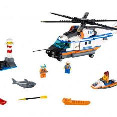 LEGO City - Elicopter de salvare pentru conditii grele 60166