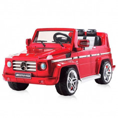 Masinuta electrica Chipolino SUV Mercedes Benz G55 Red - Masinuta electrica copii